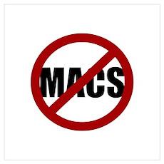 No Macs Poster
