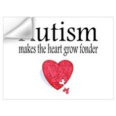 Autism Makes The Heart Grow Fonder Pri Wall Decal