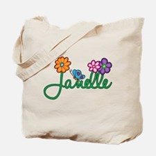 Janelle Flowers Tote Bag