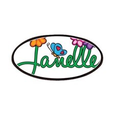Janelle Flowers Patches