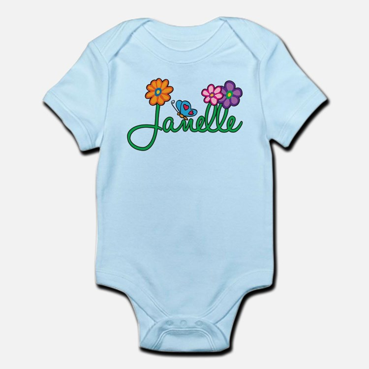 Janelle Flowers Infant Bodysuit