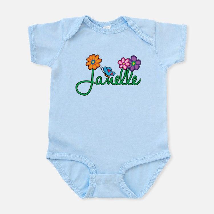 Janelle Flowers Onesie