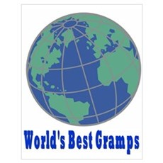 World's Best Gramps Poster