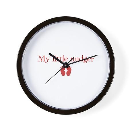 little nudger Wall Clock
