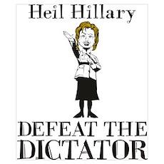 Heil Hillary Poster