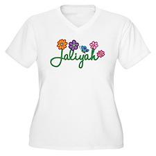 Jaliyah Flowers T-Shirt