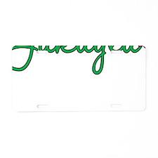 Jakayla Flowers Aluminum License Plate