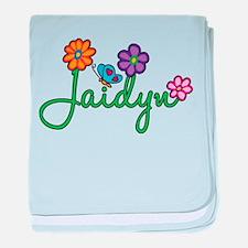 Jaidyn Flowers baby blanket