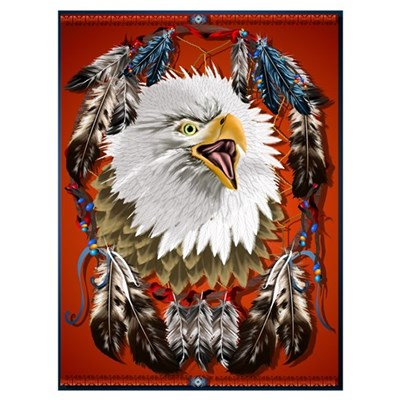 Eagle_Dreamcatcher Canvas Art