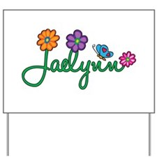 Jaelynn Flowers Yard Sign