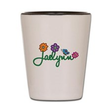 Jaelynn Flowers Shot Glass