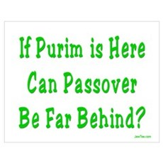 After Purim Comes Passover Poster