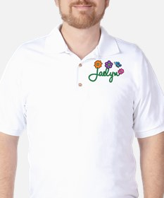 Jaelyn Flowers Golf Shirt