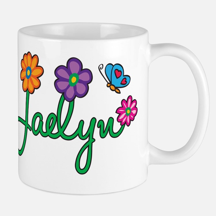 Jaelyn Flowers Mug