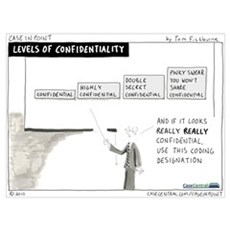 Levels of Confidentiality Poster