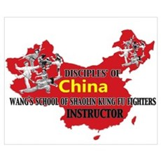Red China Instructor Poster