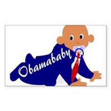 Obama baby Decal