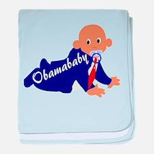 Obama baby baby blanket