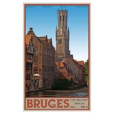 The Bruges Belfry Poster