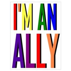 I'm an Ally Poster
