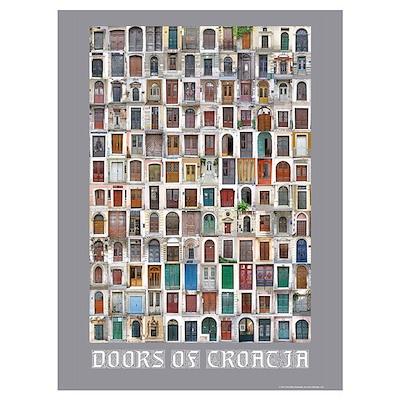Doors of Croatia Poster