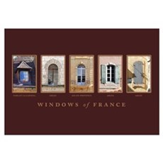 Windows of Provence Poster