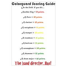 Scoring Guide Poster