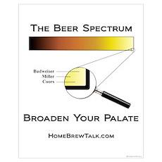 Beer Spectrum 16x20 Poster