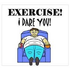 EXERCISE! I DARE YOU! Poster