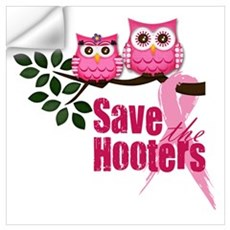 Save the Hooters Wall Decal