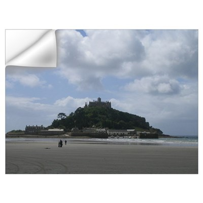 St. Michael's Mount, Cornwall Wall Decal