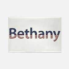 Bethany Stars and Stripes Rectangle Magnet