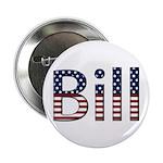 Bill Stars and Stripes Button