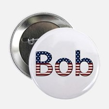 Bob Stars and Stripes Button