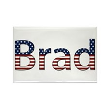 Brad Stars and Stripes Rectangle Magnet