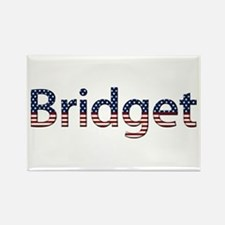 Bridget Stars and Stripes Rectangle Magnet