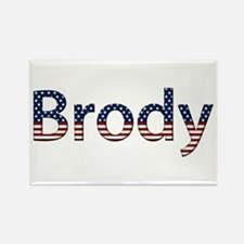 Brody Stars and Stripes Rectangle Magnet