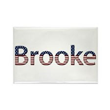 Brooke Stars and Stripes Rectangle Magnet