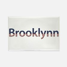 Brooklynn Stars and Stripes Rectangle Magnet