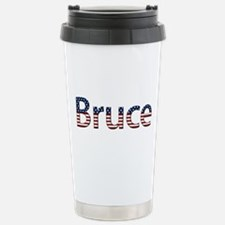 Bruce Stars and Stripes Stainless Steel Travel Mug