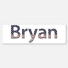 Bryan Stars and Stripes Bumper Bumper Bumper Sticker