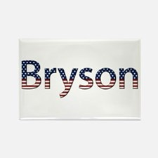 Bryson Stars and Stripes Rectangle Magnet