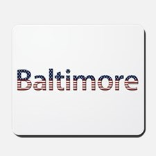 Baltimore Stars and Stripes Mousepad