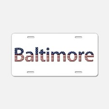 Baltimore Stars and Stripes Aluminum License Plate