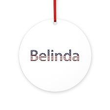 Belinda Stars and Stripes Round Ornament
