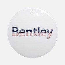 Bentley Stars and Stripes Round Ornament