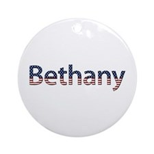 Bethany Stars and Stripes Round Ornament