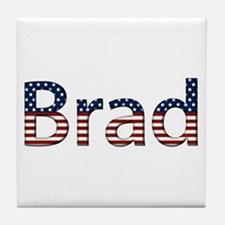 Brad Stars and Stripes Tile Coaster