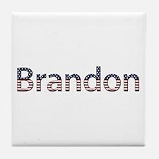 Brandon Stars and Stripes Tile Coaster
