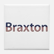 Braxton Stars and Stripes Tile Coaster